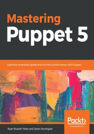 Okładka książki/ebooka Mastering Puppet 5