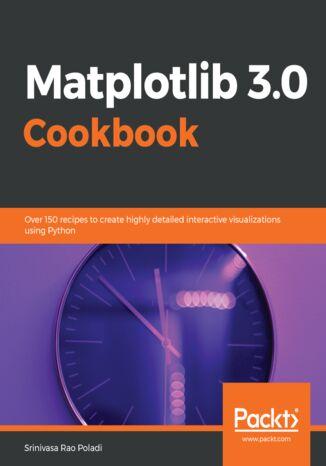 Okładka książki Matplotlib 3.0 Cookbook