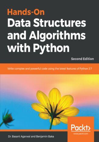 Okładka książki Hands-On Data Structures and Algorithms with Python