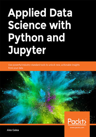 Okładka książki Applied Data Science with Python and Jupyter