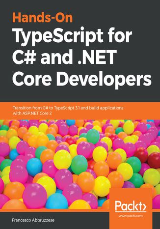 Okładka książki Hands-On TypeScript for C# and .NET Core Developers