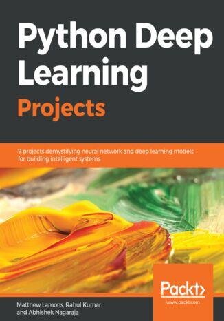 Okładka książki/ebooka Python Deep Learning Projects