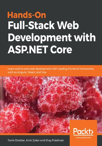 Okładka książki Hands-On Full-Stack Web Development with ASP.NET Core