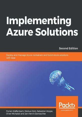 Okładka książki/ebooka Implementing Azure Solutions