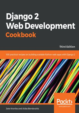 Okładka książki/ebooka Django 2 Web Development Cookbook
