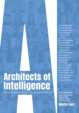 Okładka książki/ebooka Architects of Intelligence