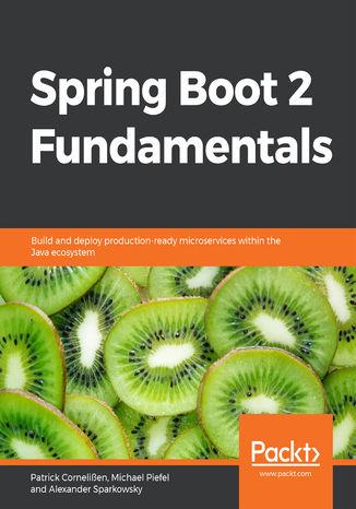 Okładka książki/ebooka Spring Boot 2 Fundamentals