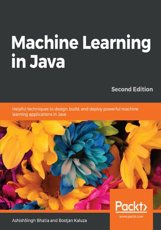 Okładka książki/ebooka Machine Learning in Java