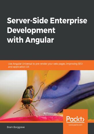 Okładka książki/ebooka Server-Side Enterprise Development with Angular
