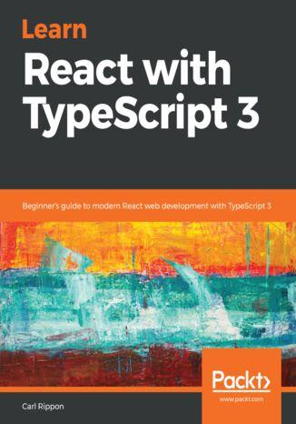 Okładka książki/ebooka Learn React with TypeScript 3