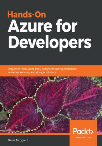 Okładka książki/ebooka Hands-On Azure for Developers