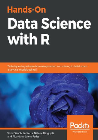 Okładka książki/ebooka Hands-On Data Science with R