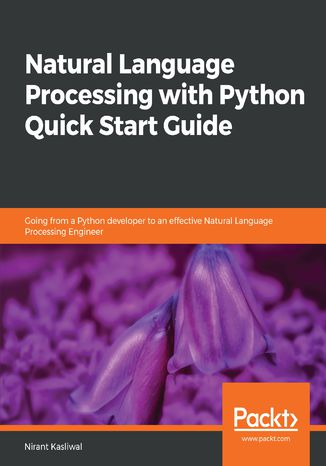 Okładka książki Natural Language Processing with Python Quick Start Guide