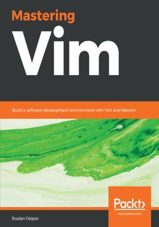 Okładka książki Mastering Vim