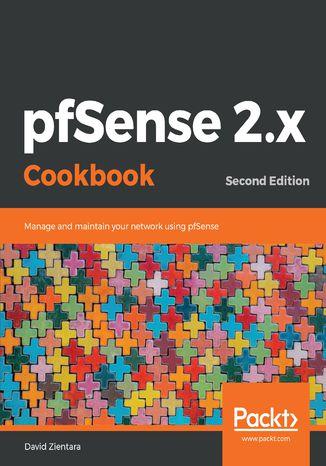 Okładka książki/ebooka pfSense 2.x Cookbook