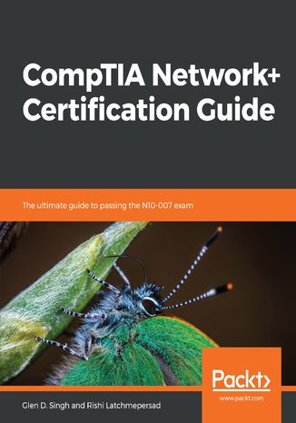 Okładka książki/ebooka CompTIA Network+ Certification Guide