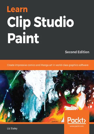 Okładka książki Learn Clip Studio Paint