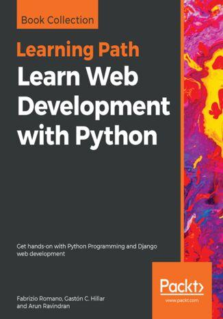Okładka książki/ebooka Learn Web Development with Python