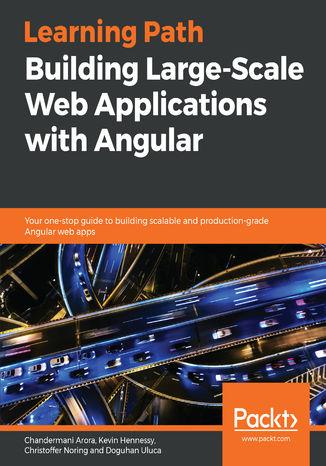 Okładka książki/ebooka Building  Large-Scale Web Applications with Angular