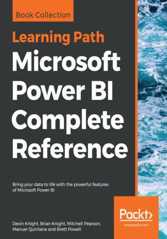 Okładka książki/ebooka Microsoft Power BI Complete Reference