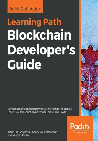 Okładka książki/ebooka Blockchain Developer's Guide