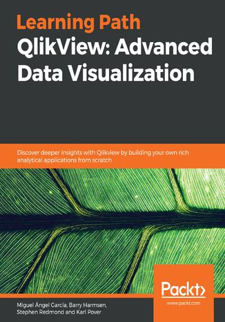 Okładka książki/ebooka QlikView: Advanced Data Visualization