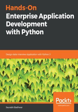 Okładka książki/ebooka Hands-On Enterprise Application Development with Python