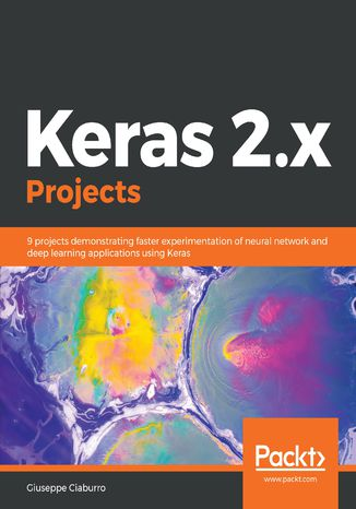 Okładka książki Keras 2.x Projects