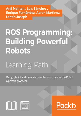 Okładka książki ROS Programming: Building Powerful Robots
