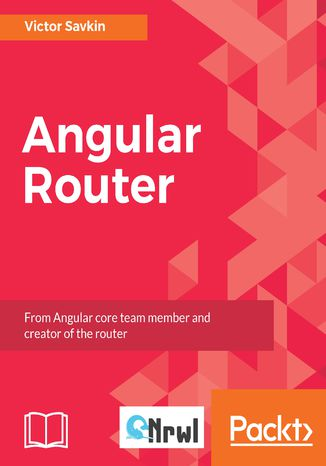 Okładka książki Angular Router