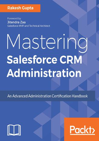 Okładka książki Mastering Salesforce CRM Administration