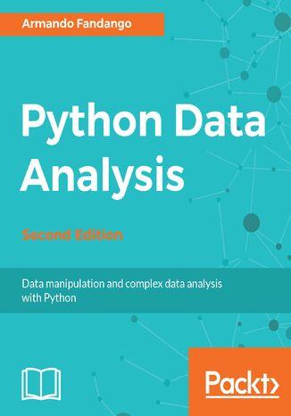 Okładka książki/ebooka Python Data Analysis - Second Edition