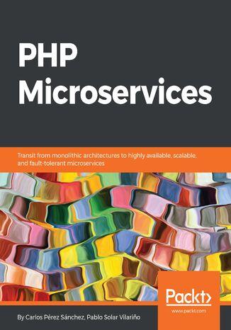 Okładka książki PHP Microservices
