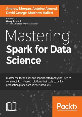 Okładka książki/ebooka Mastering Spark for Data Science