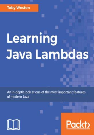Okładka książki/ebooka Learning Java Lambdas
