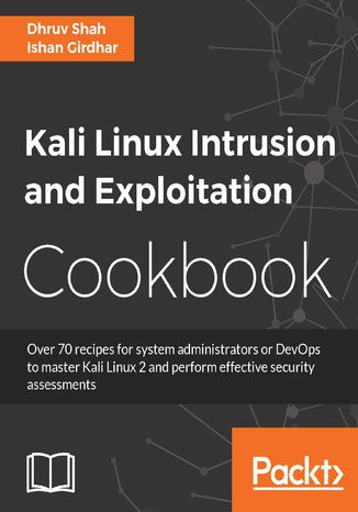 Okładka książki/ebooka Kali Linux Intrusion and Exploitation Cookbook