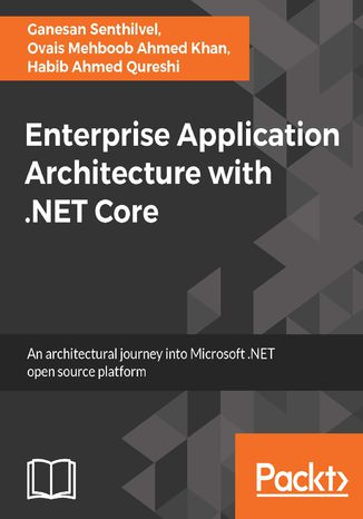 Okładka książki/ebooka Enterprise Application Architecture with .NET Core