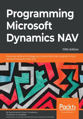 Okładka książki/ebooka Programming Microsoft Dynamics NAV - Fifth Edition