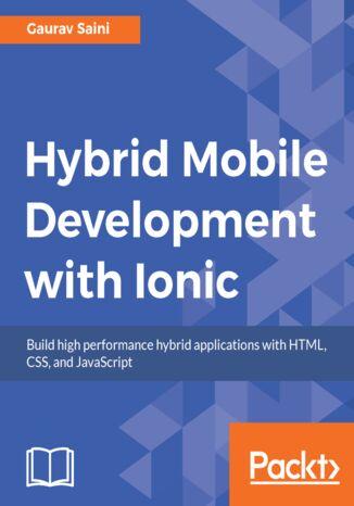 Okładka książki Hybrid Mobile Development with Ionic