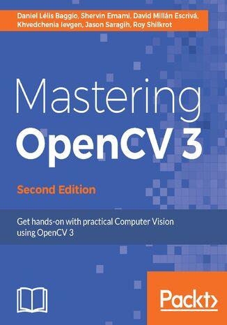 Okładka książki Mastering OpenCV 3 - Second Edition