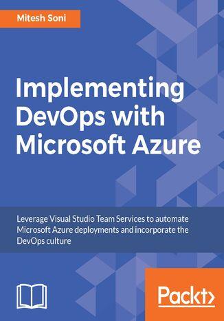 Okładka książki/ebooka Implementing DevOps with Microsoft Azure