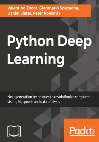 Okładka książki/ebooka Python Deep Learning