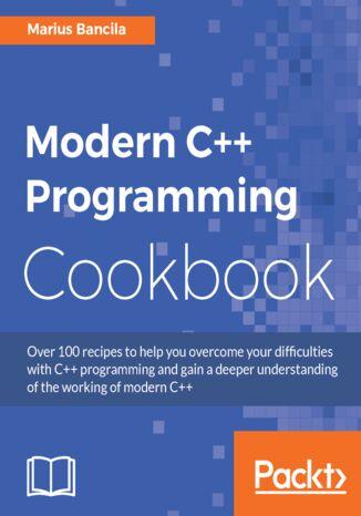Okładka książki/ebooka Modern C++ Programming Cookbook
