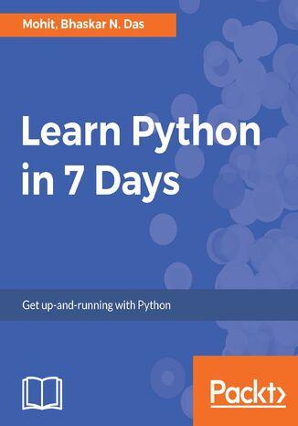 Okładka książki/ebooka Learn Python in 7 Days