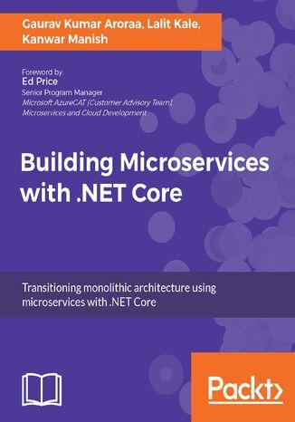 Okładka książki Building Microservices with .NET Core