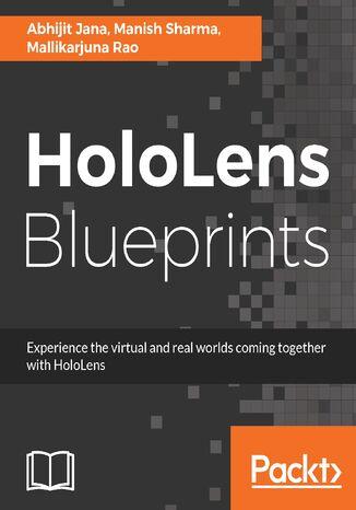Okładka książki/ebooka HoloLens Blueprints