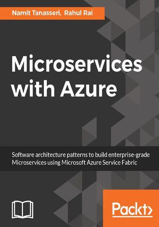 Okładka książki/ebooka Microservices with Azure