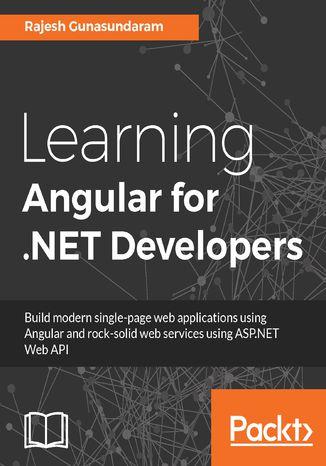 Okładka książki/ebooka Learning Angular for .NET Developers