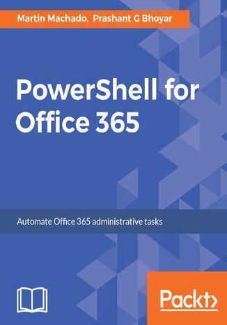 Okładka książki PowerShell for Office 365