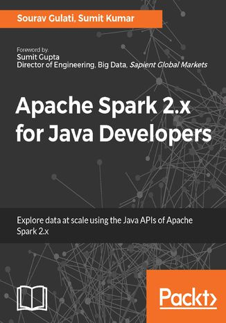 Okładka książki Apache Spark 2.x for Java Developers